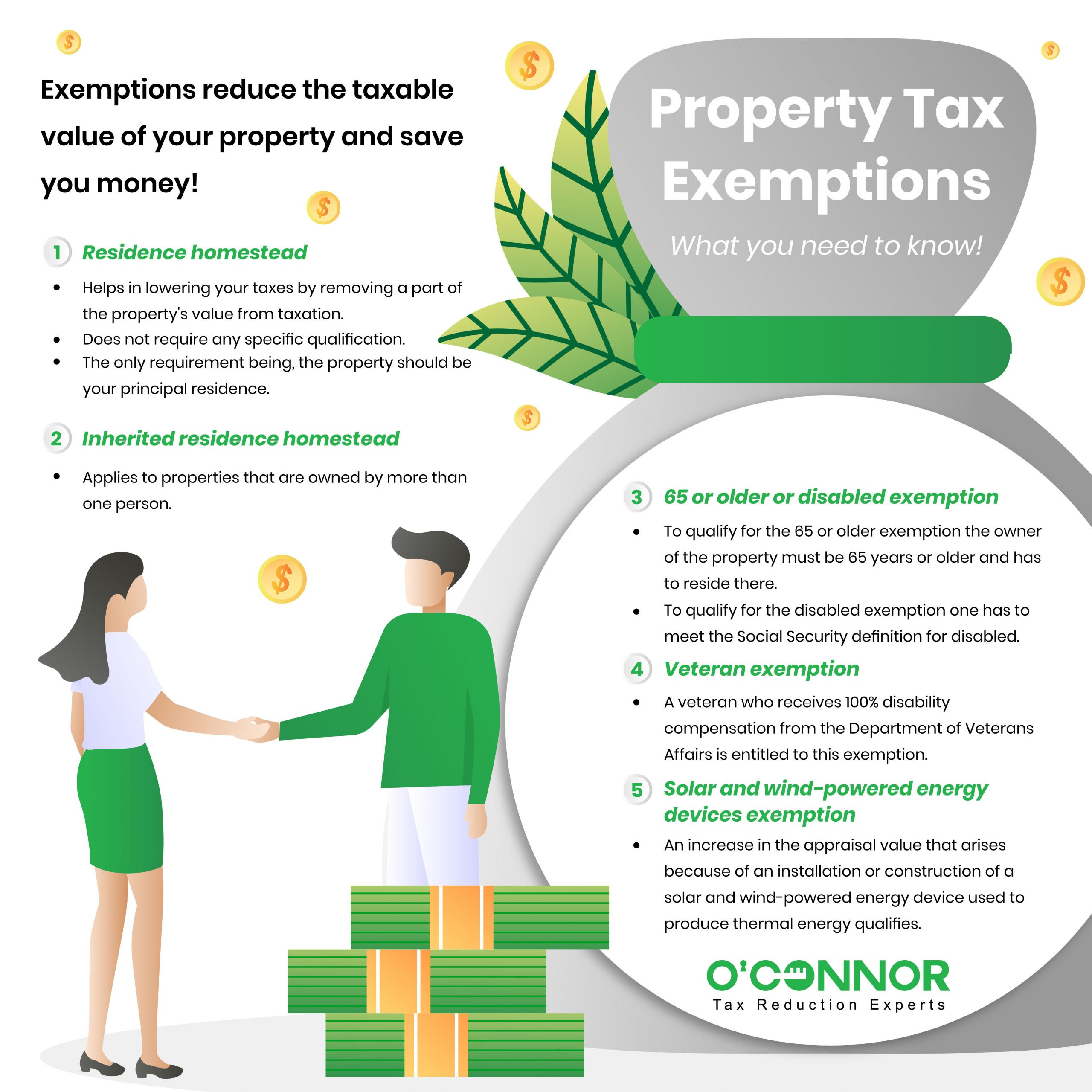 Oconnor- Property Tax Exemptions - What you need to know