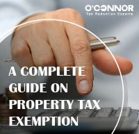 Oconnor a complete guide on property tax exemption